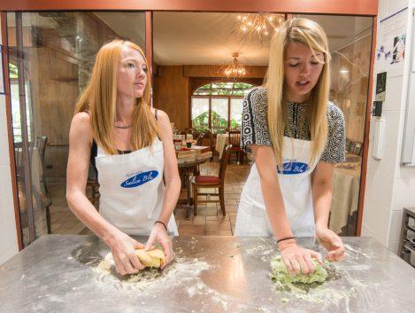 cooking lessons Chef Luigi Gandola